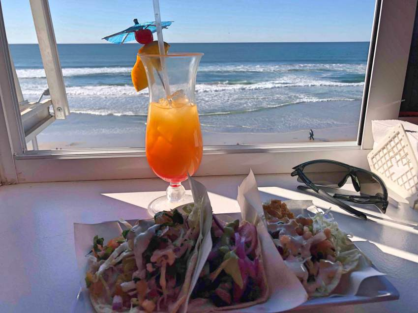 Tacos & drinks in Tijuana, Mexico