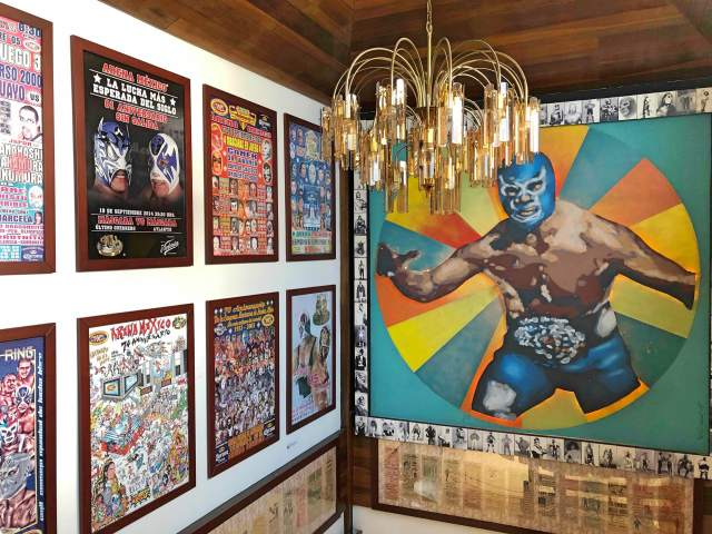 Tijuana history museum. Lucha Libre (Free Fight) Mexican culture