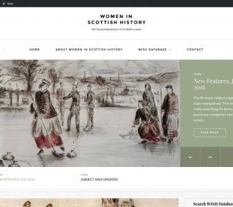 Women in Scottish History (WISH) site