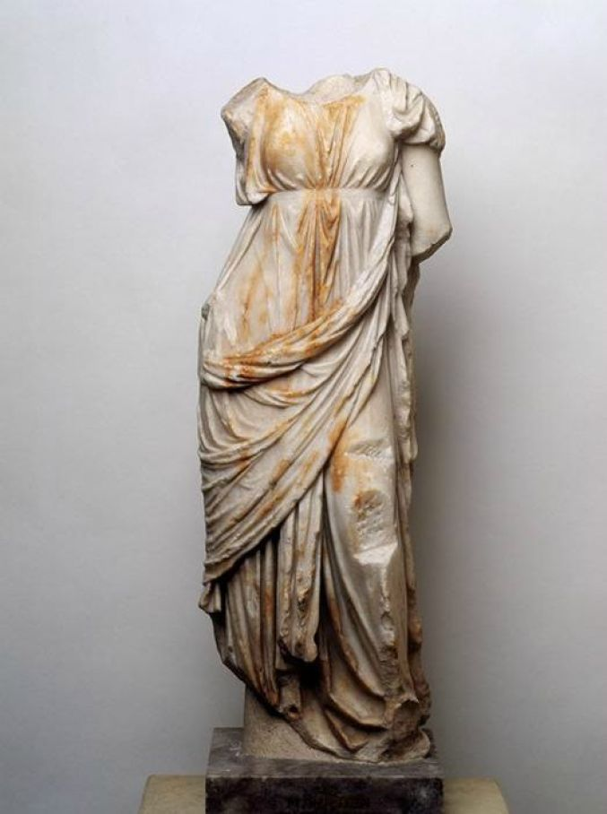 Greek Roman Statue used for reference