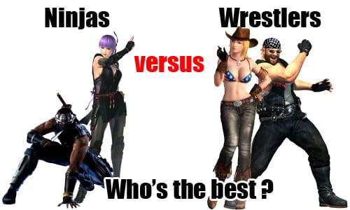dead or alive 5 - ninjas