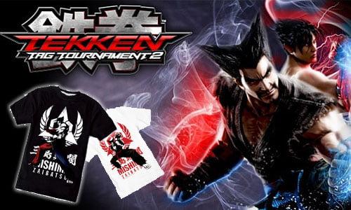 t-shirts tekken