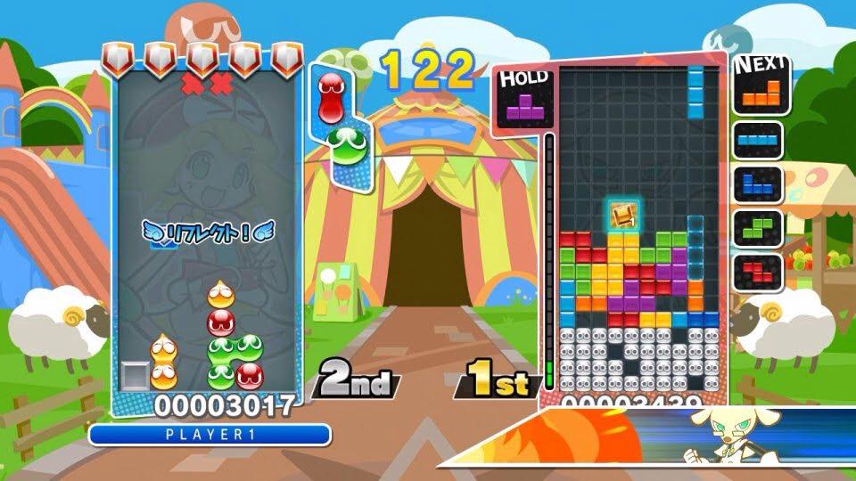 PuyoPuyo Tetris empile date de sortie et supports