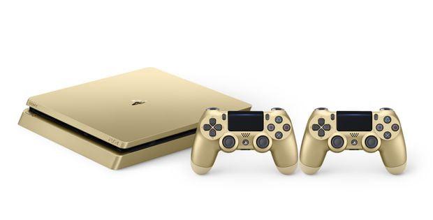 PS4 : des déclinaisons en Or et Argent