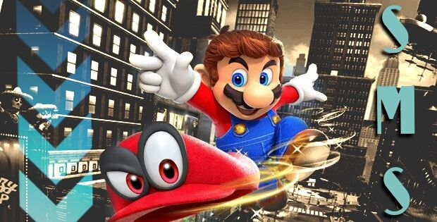 Sur Mon Screen : Super Mario Odyssey Switch
