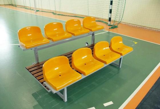 Trybuna mobilna na kółkach do hal sportowych prostar poznań