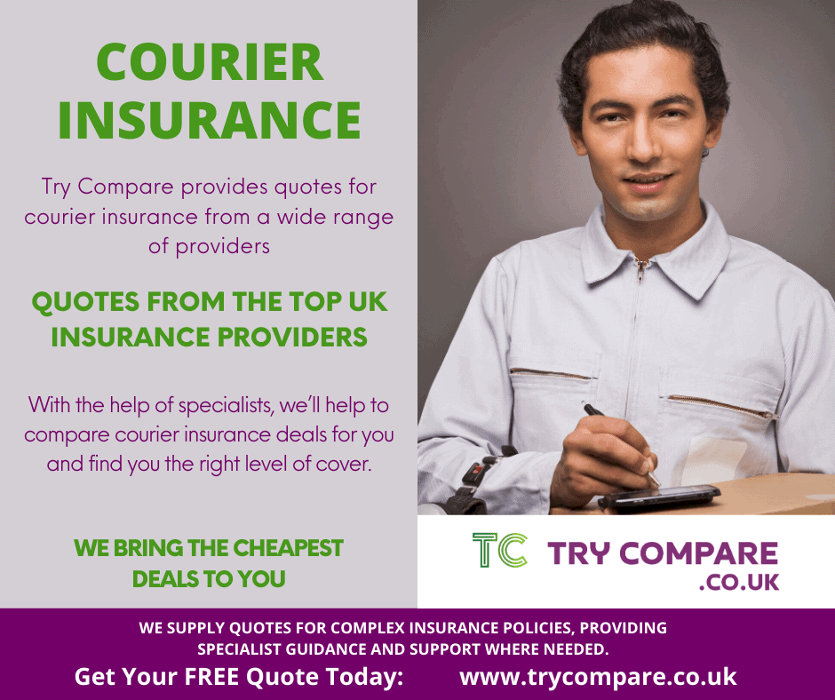 Courier insurance with Try Compare.
