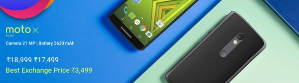 Never before Offers on Moto Smartphones-Flipkart