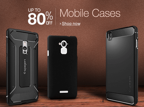 Upto 80% discount on Mobile cases Amazon
