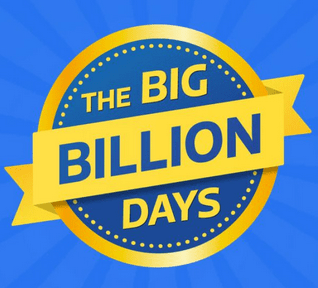 The big billion days sale flipkart 2016