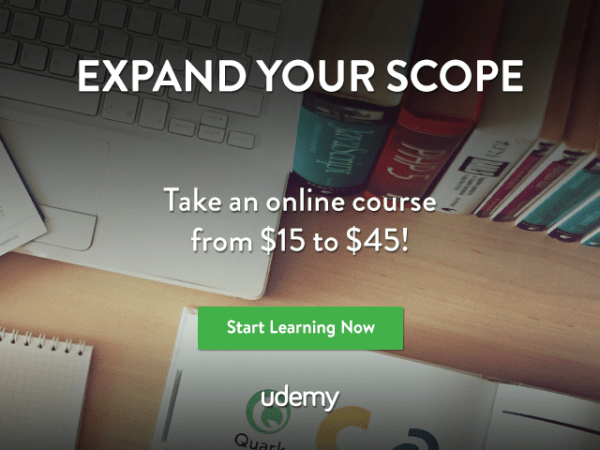 Udemy march 2017 sale