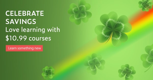 st patricks day sale udemy 2018