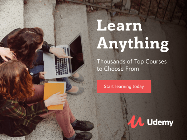 Udemy Prime Sale Brings All Courses down to $9.99 each