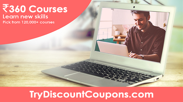 udemy courses at Rs. 360 India coupon