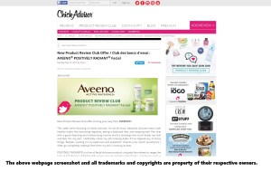 AVEENO Free Samples