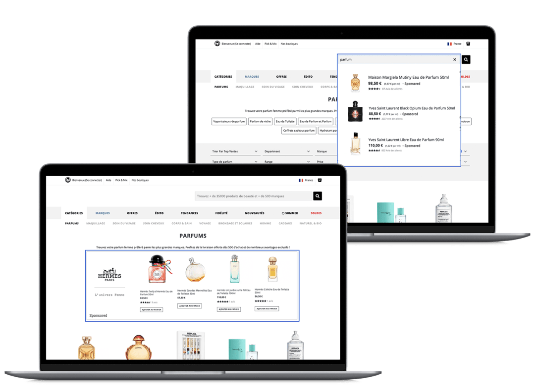 e-commerce emerchandising mockup
