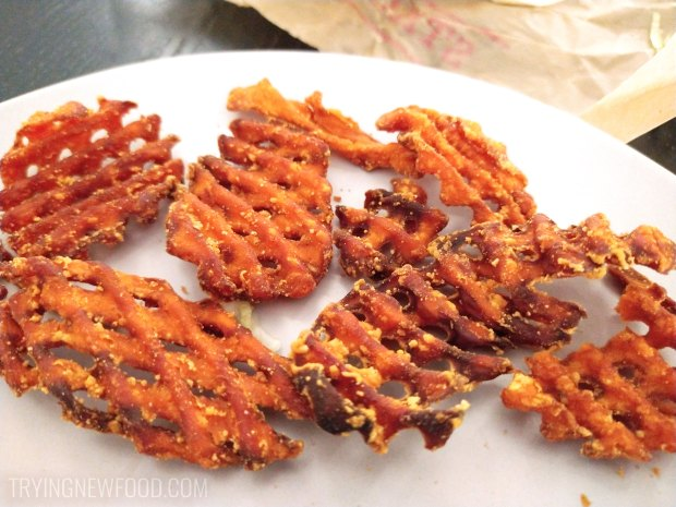 Arby's Sweet Potato Fries burnt
