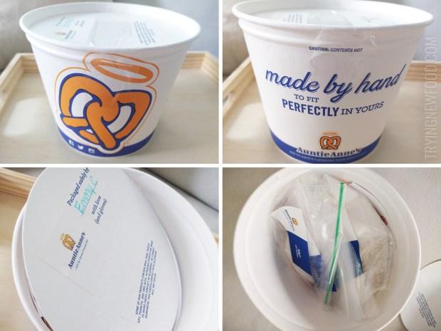 Auntie Anne's DIY At-Home Pretzel Kit packaging