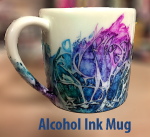 How to DIY Alcohol Ink on a Mug