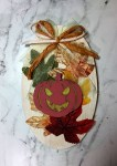 Fall Pumpkin Plaque Decor