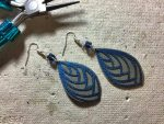 How To Make Faux Leather Earrings