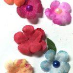 DIY Inexpensive Floral Embellishments