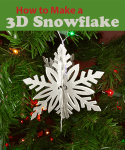 How to Make 3D Snowflakes with Cricut