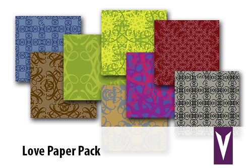 love paper pack
