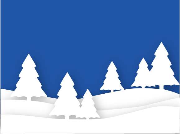 winter shadowbox