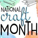 Cricut's Craft Month Sale