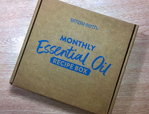 essential oil mailing box