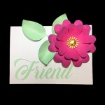 Making a Floral Friend Card and SVG