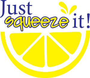 just squeeze it