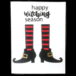 A Very Witchy Halloween Card