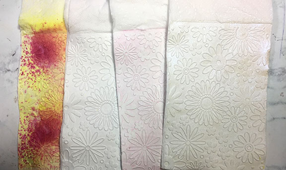 styles of embossing