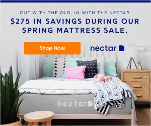 Try Any Mattress of Your Choice RISK-FREE @ Your Home W/ Free Delivery save-275-spring Nectar (save $275)