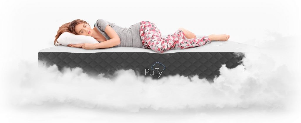 Try Any Mattress of Your Choice RISK-FREE @ Your Home With Free Delivery and Free Returns puffy-sleeping-1024x420 Puffy Lux Mattress Review ($300 off)