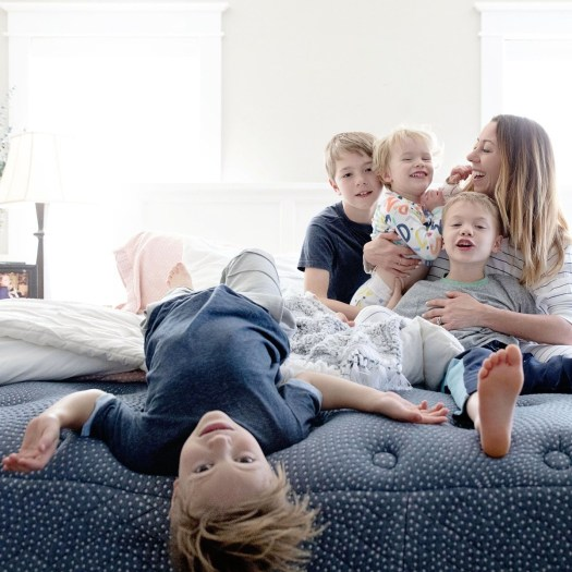 Try Any Mattress of Your Choice RISK-FREE @ Home W/ Free Delivery luft_with_kids LUFT Hybrid Mattress Review ($300 off Kings/Queens)