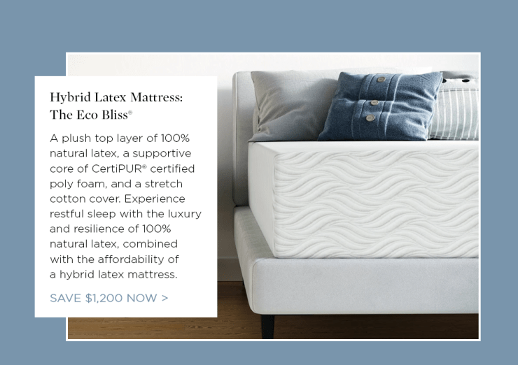 Try Any Mattress of Your Choice RISK-FREE @ Home W/ Free Delivery eco-bliss-hybrid-latex Best Latex Coil Hybrid Mattress Reviews