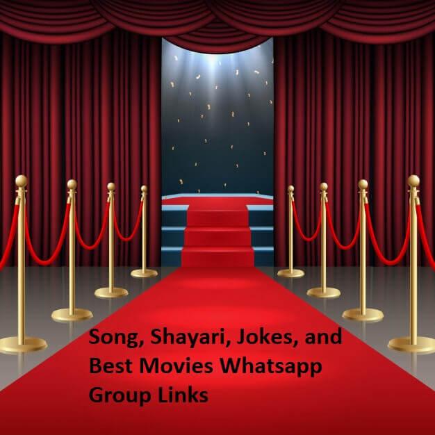 Song, Shayari, Jokes, and Best Movies Whatsapp Group Links