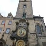 プラハの有名な時計台