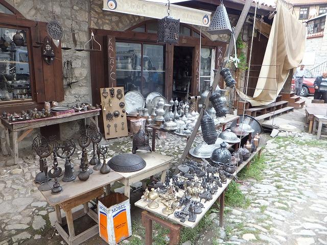 青銅器が売っているお店