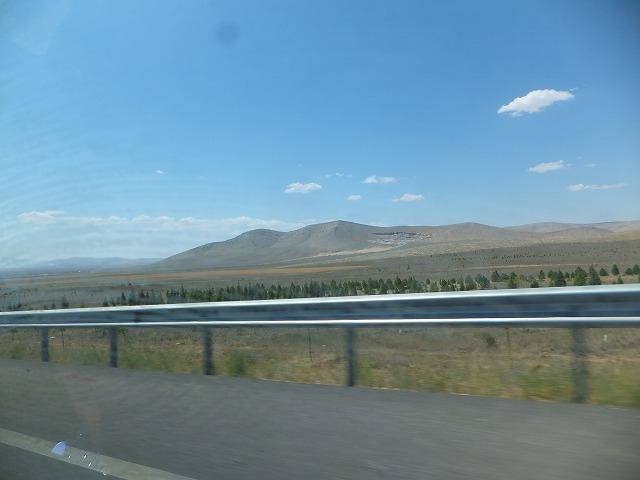 トルコの中部地方の景色