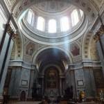 エステルゴム大聖堂の中