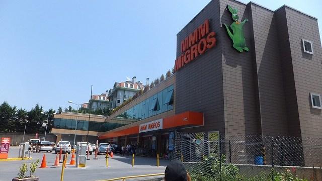イスタンブールの大型スーパー:ミグロス