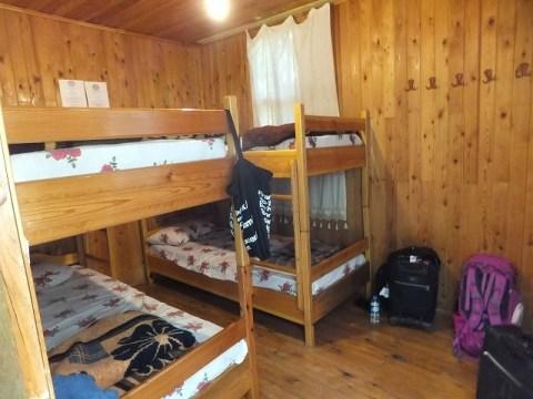 ツリーハウスの自分たちが泊まったドミトリー
