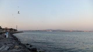 マルマラ海から望む、アジア側