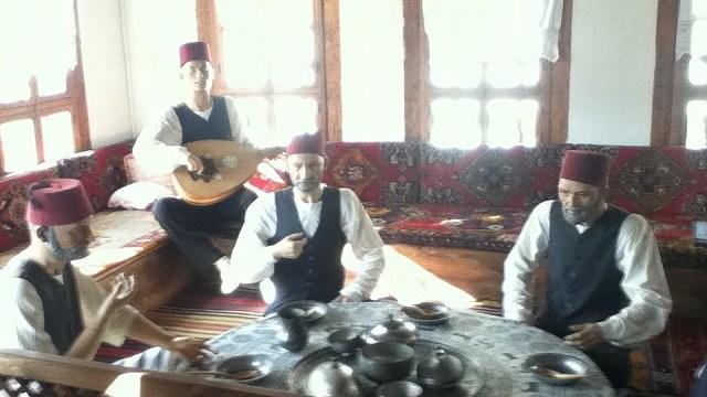 男たちの部屋:サフランボル伝統民家