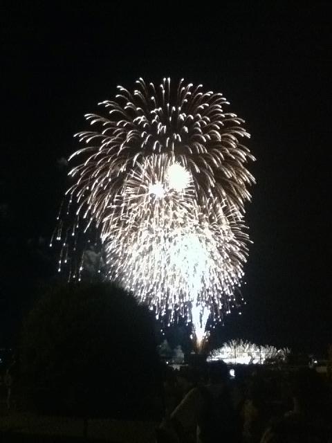 横須賀フレンドシップデイで見た花火