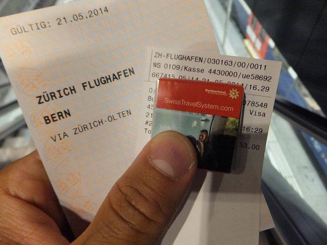 電車のチケットを買ったら、スイスチョコくれた♪